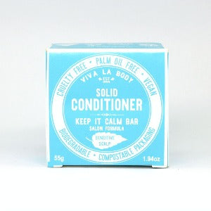 Viva La Body Keep It Calm Solid Conditioner Salon Formula 50g