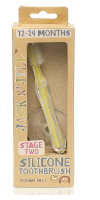 JACK N' JILL Silicone Toothbrush Stage-2 (12-24 months)