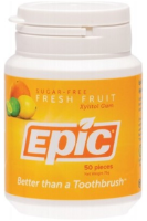 EPIC Xylitol Chewing Gum Fresh Fruit - 50