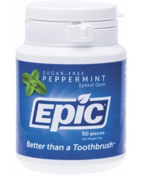 EPIC Xylitol Chewing Gum Peppermint - 50