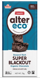ALTER ECO Chocolate (Organic) Dark Super Blackout 75g