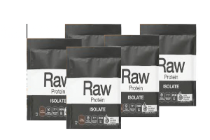 AMAZONIA Raw Protein Isolate Natural 5 x 30g
