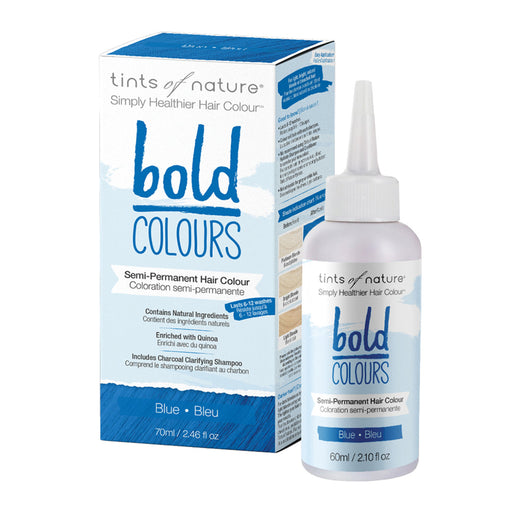 TINTS OF NATURE Bold Colours Semi-Permanent Hair Colour Blue 70ml