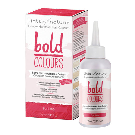 TINTS OF NATURE Bold Colours Semi-Permanent Hair Colour Fuchsia 70ml
