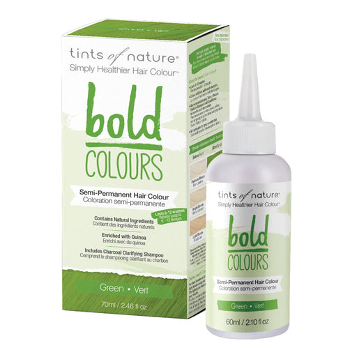 TINTS OF NATURE Bold Colours Semi-Permanent Hair Colour Green 70ml