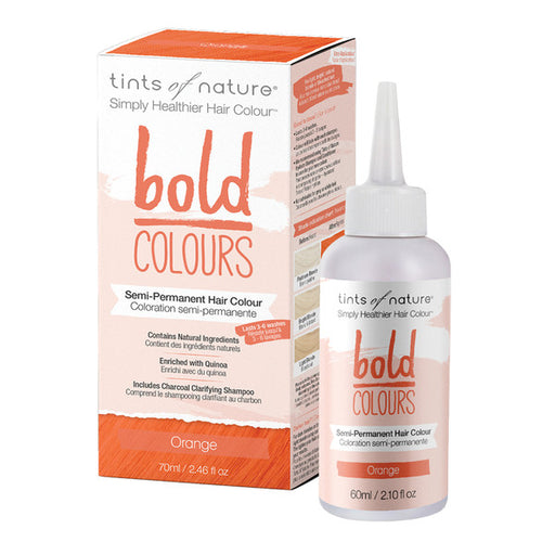 TINTS OF NATURE Bold Colours Semi-Permanent Hair Colour Orange 70ml