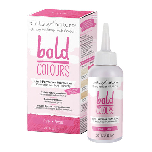 TINTS OF NATURE Bold Colours Semi-Permanent Hair Colour Pink 70ml
