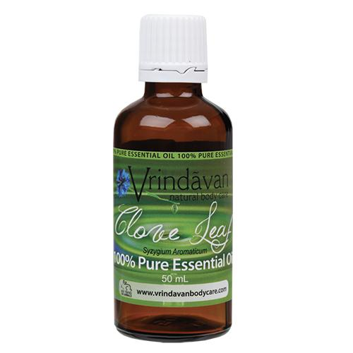 VRINDAVAN Clove Leaf Essential Oil (100%) 50ml - Welcome Organics