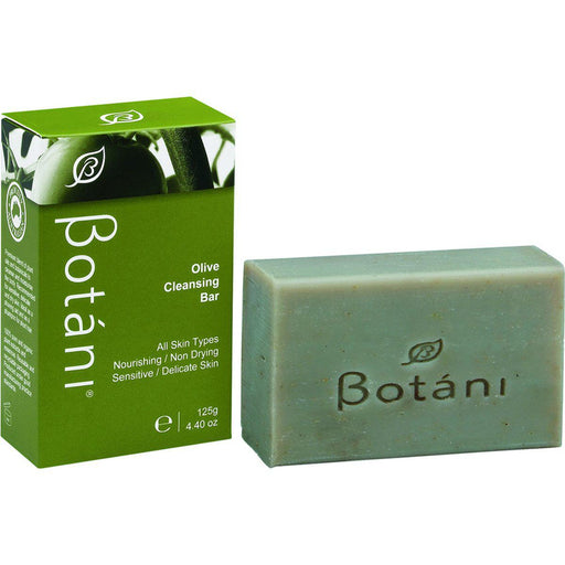 BOTANI Olive Cleansing Bar 125g - Welcome Organics