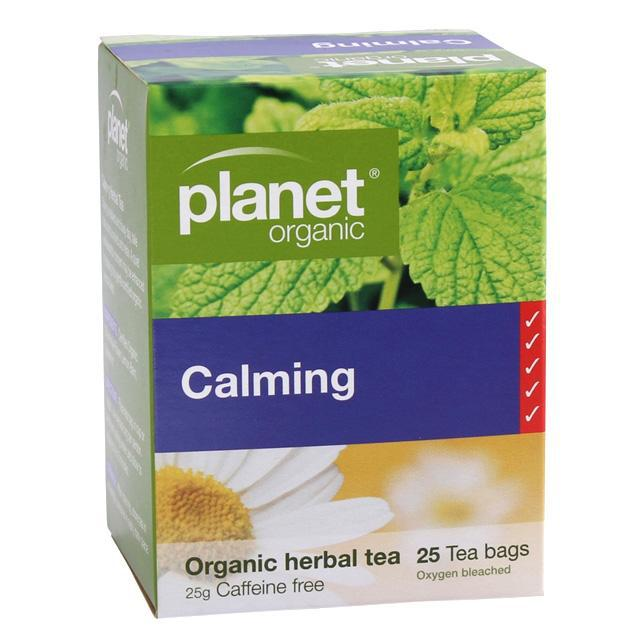 PLANET ORGANIC Calming Herbal Tea x 25 Tea Bags - Welcome Organics