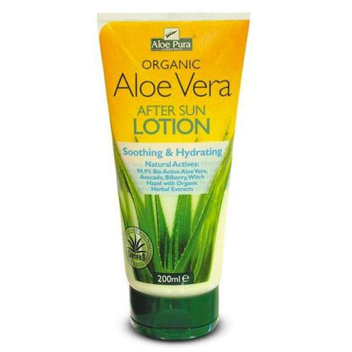ALOE PURA Aloe Vera After Sun Lotion 200ml-ALOE PURA-Welcome-organics