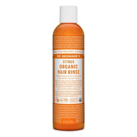 DR BRONNERS Organic Hair Rinse Citrus 237ml - Welcome Organics