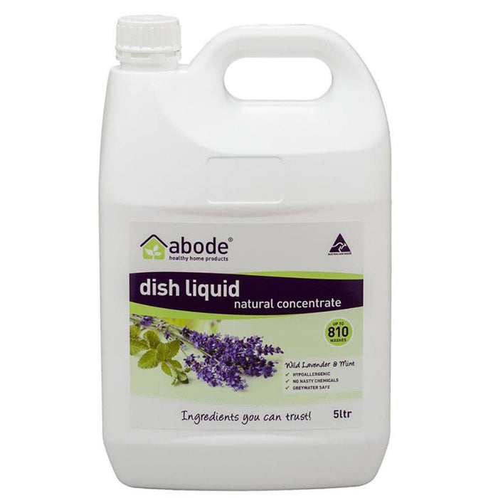 ABODE Dishwashing Liquid Lavender and Mint 5L-ABODE-Welcome-organics