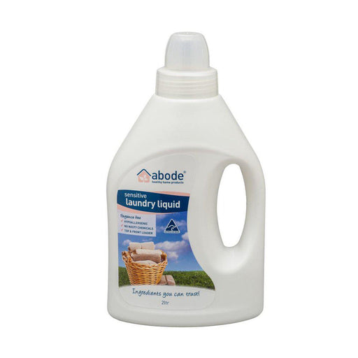 ABODE Laundry Liquid (Front & Top Loader) Zero 2L - Welcome Organics