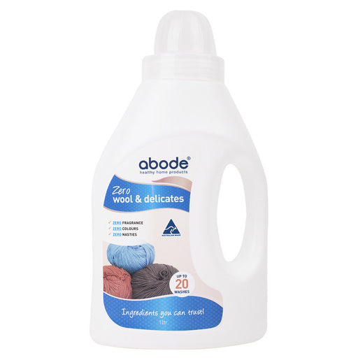 ABODE Wool & Delicates (Front & Top Loader) Zero 2L - Welcome Organics