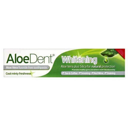 ALOE DENT Whitening Toothpaste-ALOE DENT-Welcome-organics
