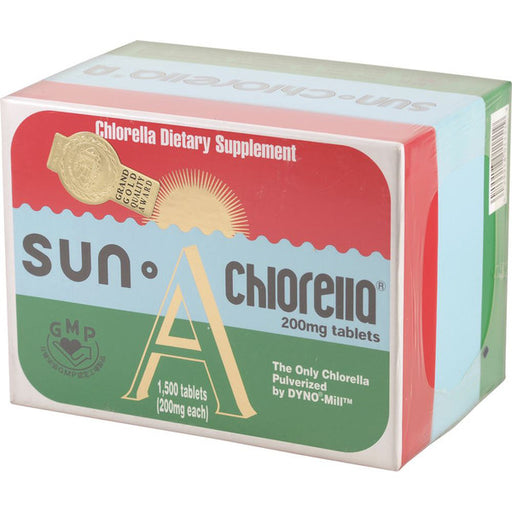 SUN A Chlorella 200mg 1500t - Welcome Organics