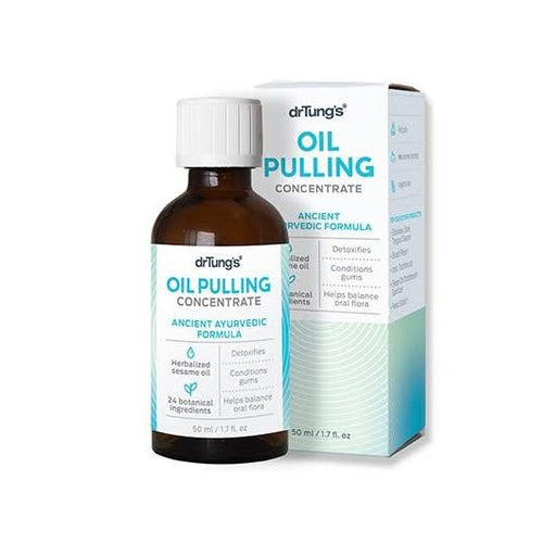 DR TUNGS Oil Pulling Concentrate Ancient Ayurvedic Formula 50ml - Welcome Organics