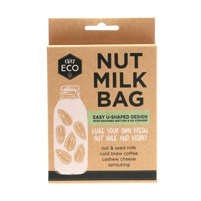 EVER ECO Nut Milk Bag Counter Display With Recipe Booklets 9 - Welcome Organics
