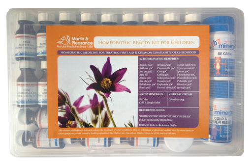 MARTIN & PLEASANCE Homoeopathic First Aid Kit Children - Welcome Organics