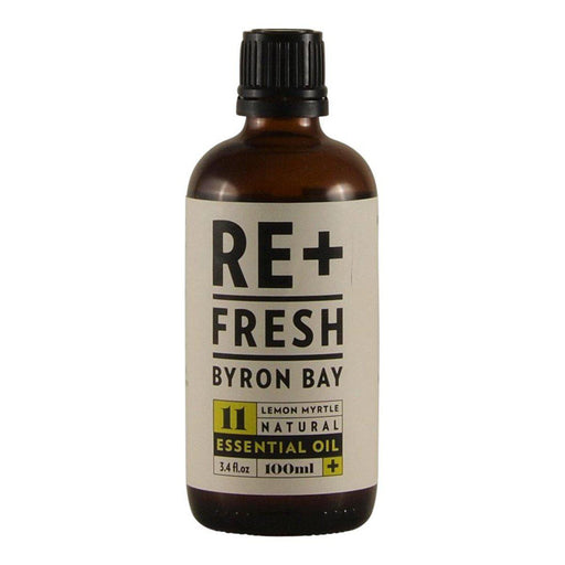 REFRESH BYRON BAY Lemon Myrtle Natural Essential Oil 100ml - Welcome Organics