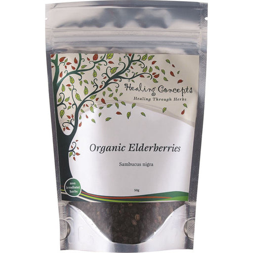 HEALING CONCEPTS Organic Elderberries Tea 50g* - Welcome Organics