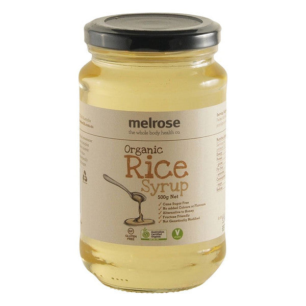 MELROSE Organic Rice Syrup 500g - Welcome Organics