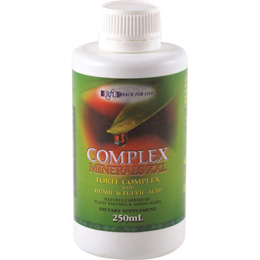 REACH FOR LIFE Complex Minerals XXL with Humic & Fulvic Acid 250ml - Welcome Organics