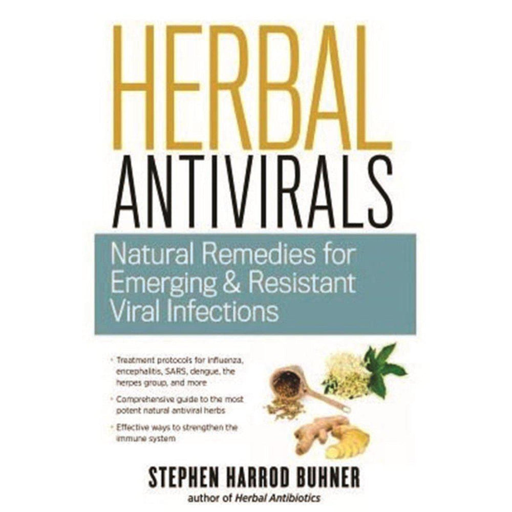 BOOKS Herbal Antivirals-Natural Remedies for Emerging and Resistant Viral Infections by Stephen Buhner-BOOKS-Welcome-organics