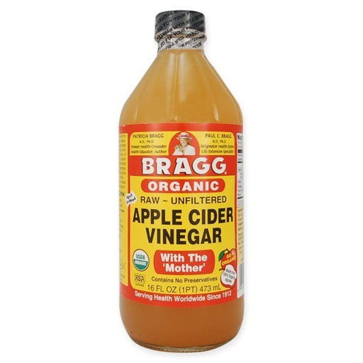 BRAGG Apple Cider Vinegar Unfiltered & Contains The Mother 473ml - Welcome Organics