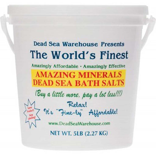 DEAD SEA WAREHOUSE Dead Sea Bath Salts 2.27kg - Welcome Organics