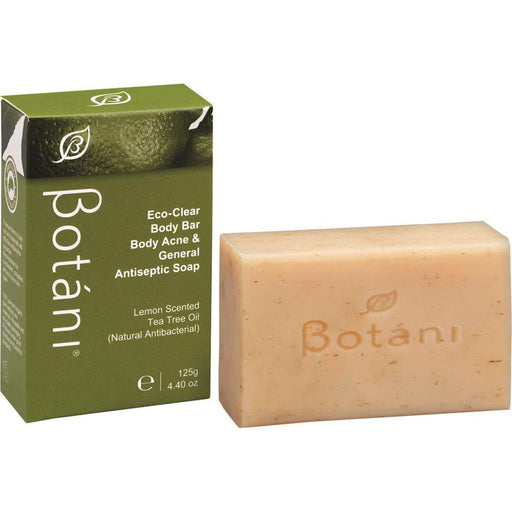 BOTANI Eco Clear Body Bar Antiseptic Soap 125g - Welcome Organics
