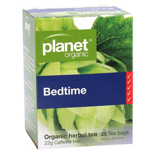 PLANET ORGANIC Bedtime Herbal Tea x 25 Tea Bags - Welcome Organics