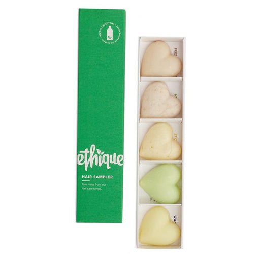 ETHIQUE Hair Sampler Pack- Shampoo Bars & Conditioner Bar 100g