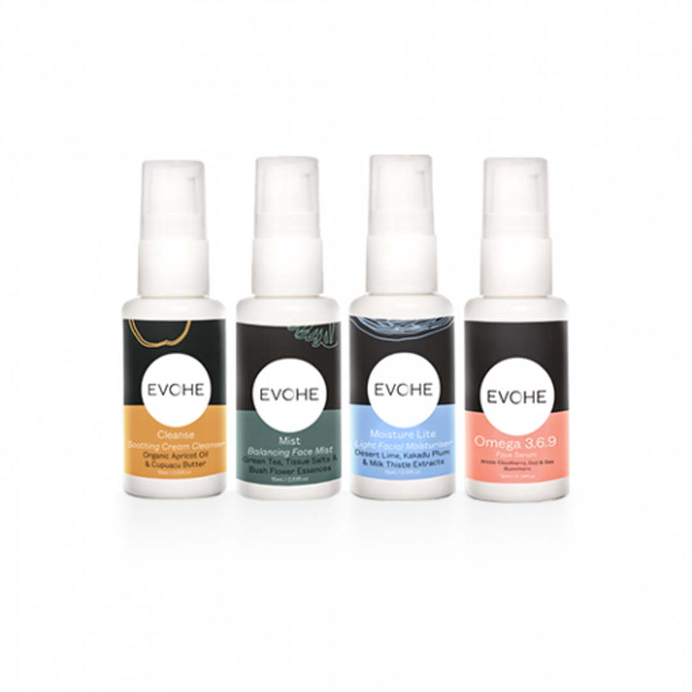 EVOHE Face Essential Minis Starter Pack - Welcome Organics