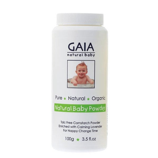 GAIA NATURAL BABY Natural Baby Powder 100g - Welcome Organics