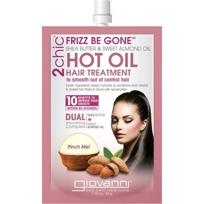 GIOVANNI Hot Oil Hair Treatment - 2chic Frizz Be Gone 49g