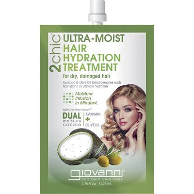 GIOVANNI Hot Oil Hair Treatment - 2chic Ultra Moist 51.75ml