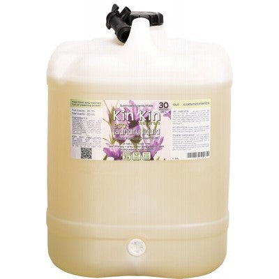 KIN KIN NATURALS Laundry Liquid Bulk 20L Drum with Tap
