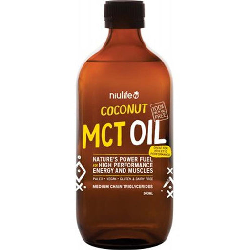 NIULIFE High Performance Coconut MCT Oil 500ml - Welcome Organics