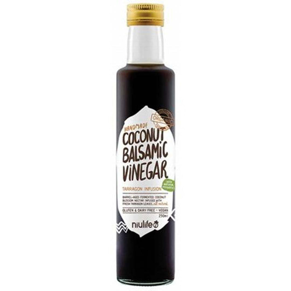 NIULIFE  Coconut Balsamic Vinegar 250ml - Welcome Organics