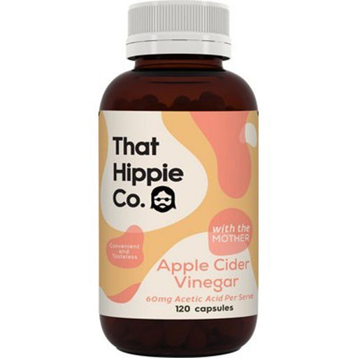 THAT HIPPIE CO Apple Cider Vinegar Capsules 120 - Welcome Organics