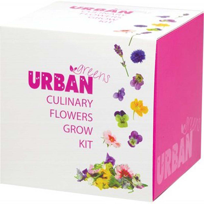 URBAN GREENS Grow Your Own Culinary Flower Kit