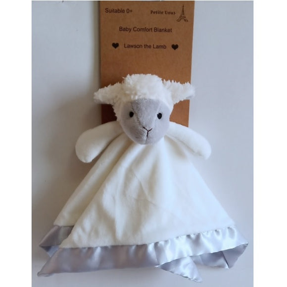 Lawson the Lamb Comfort Blanket