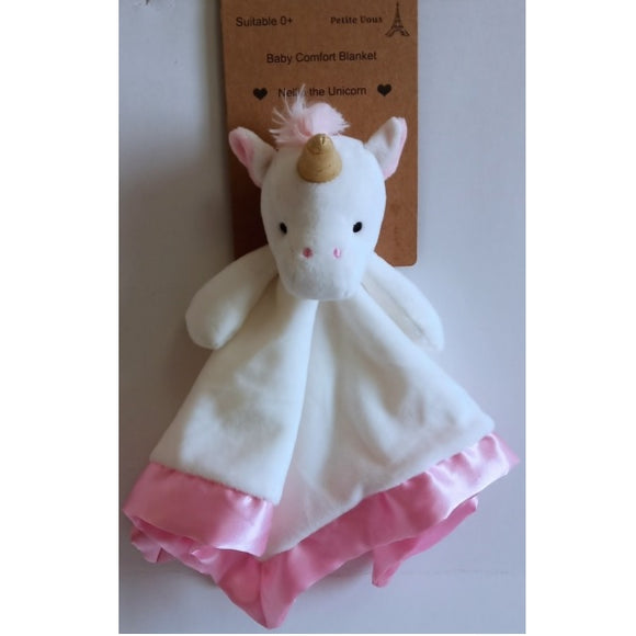 Nellie the Unicorn Comfort Blanket