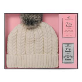Aroma Home Gift Boxed Beanie - Cream