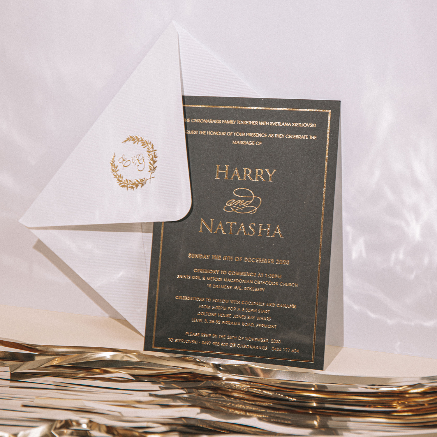 Classic Card Invitations