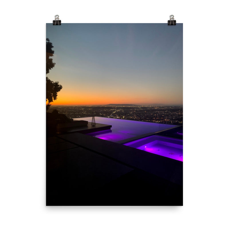 West Hollywood Hills poster