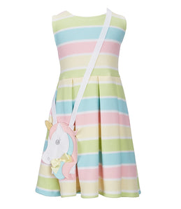 Unicorn Purse and Rainbow Dress