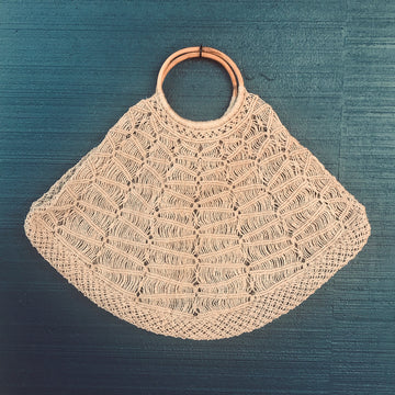 Handmade Jute String Bag - The Carly